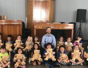 Rabbi E and kids